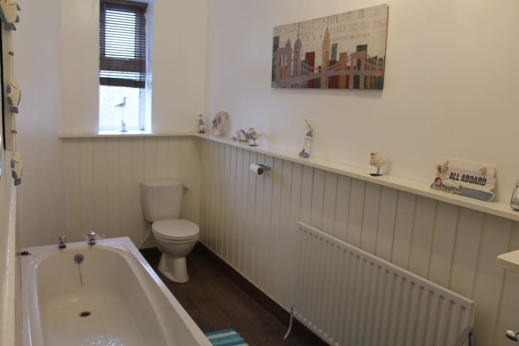 Shared house bathroom