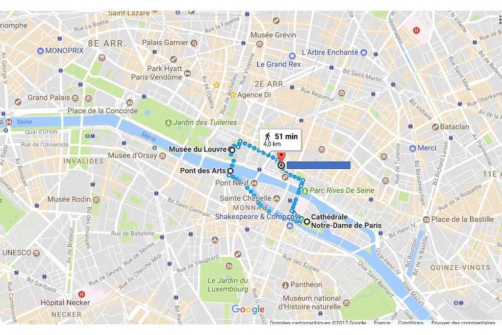 Our lovely flat is within a few minutes by walk or tube of any interesting Parisian sigthseeings! Louvre museum, Jardins des Tuileries, Pont des Arts, Pont neuf, Notre Dame de Paris, Sainte Chapelle, Ile St Louis, Ile de la cite, ... the most magnificent sights in Paris!!