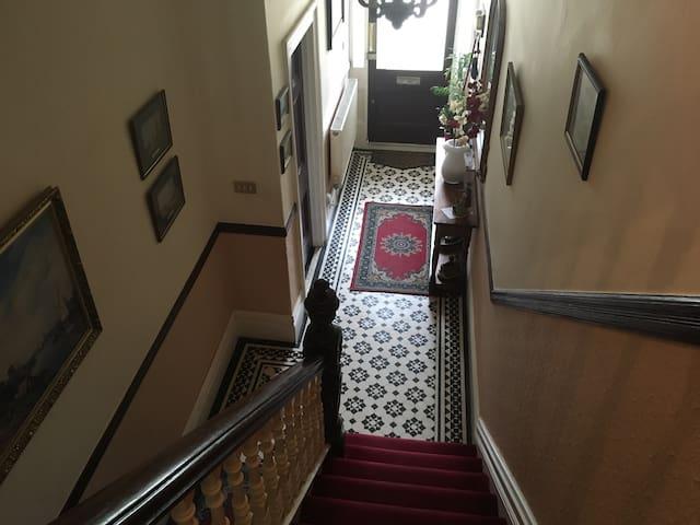 3rd floor double bedroom in large Victorian house