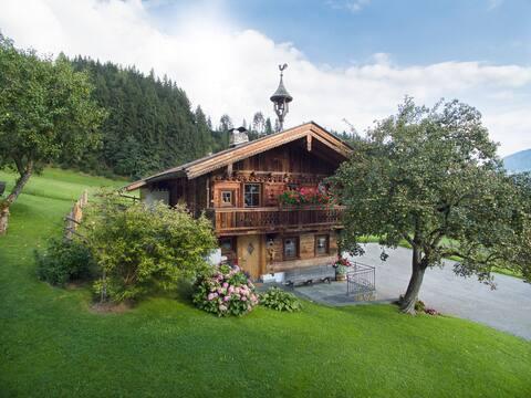 Alpine chalet panorama, waardig feel-good huis