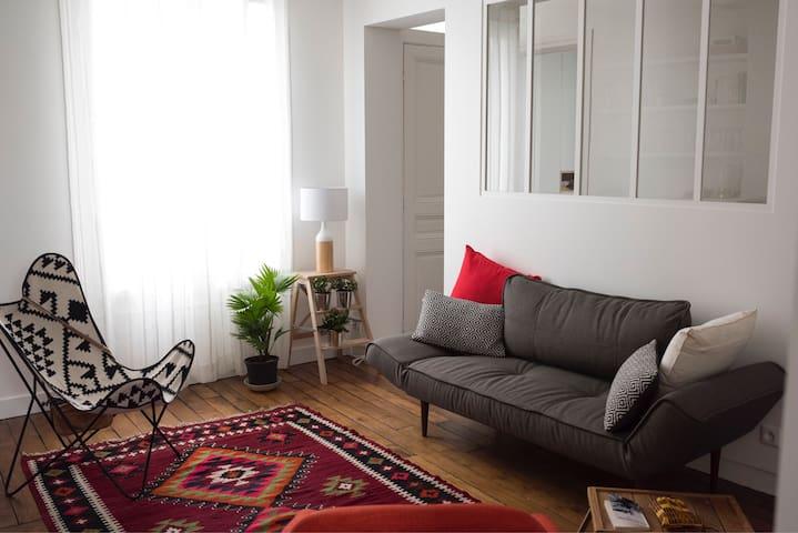 Charmant appartement près de Montmartre