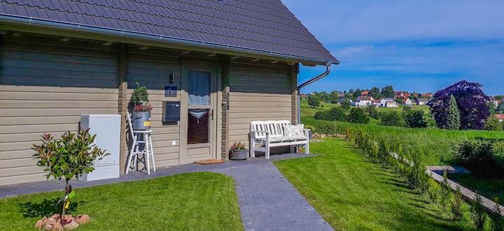 Ferienhaus Im Lochfeld . Romantisches Blockhaus.