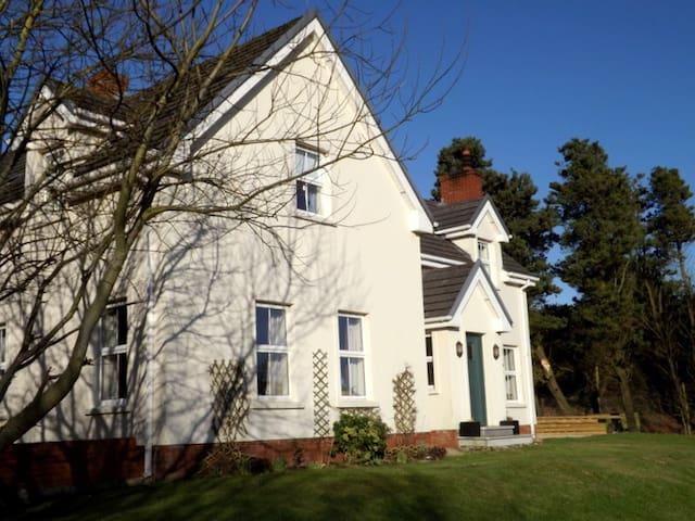 Maire's House at Ballyhernan Bay, Fanad Head