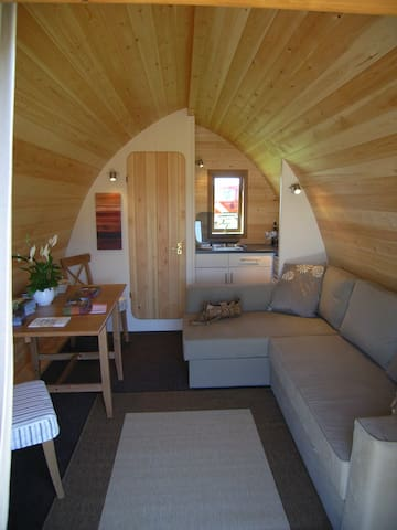 boungalow chalet ecologico con bagno e cucina - spresiano - บังกะโล
