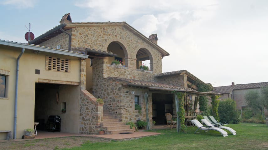 Rondini - Apartment with Tuscany landscape views - San Giovanni d'Asso