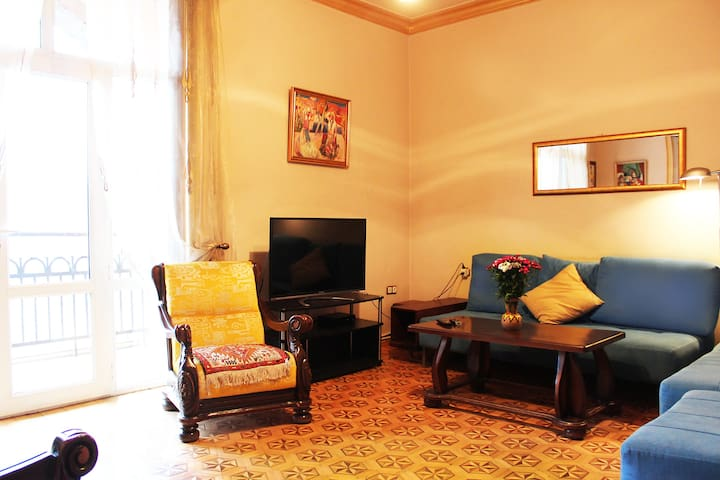 Yerevan  Center, furnished room in 2 BR's Apt