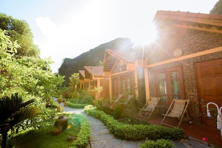 Tam Coc-double bed- Garden View & Free Breakfast