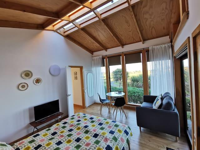 Views and tranquility on an Alpaca farm