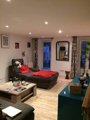 Maison cosy, agréable à vivre, sérénité, détente!