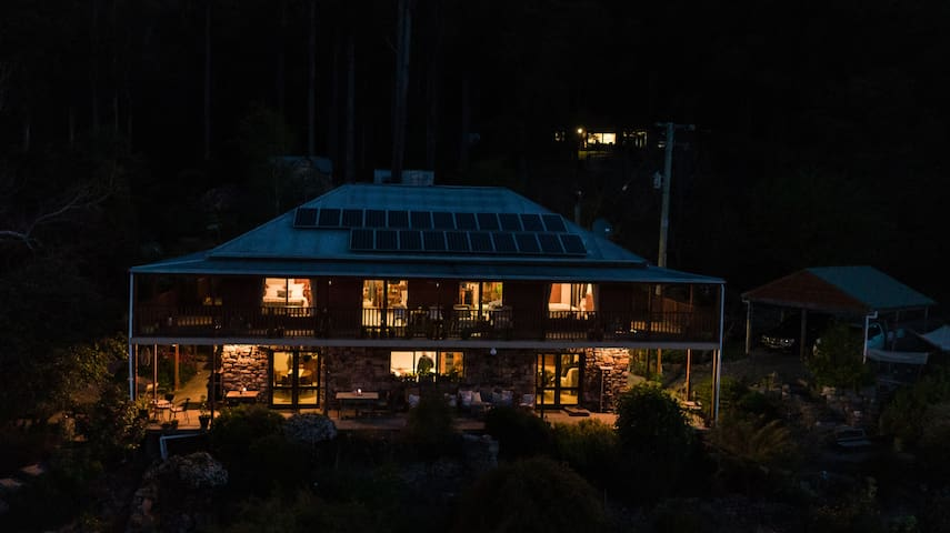 Night sky views of the Lodge...say no more!