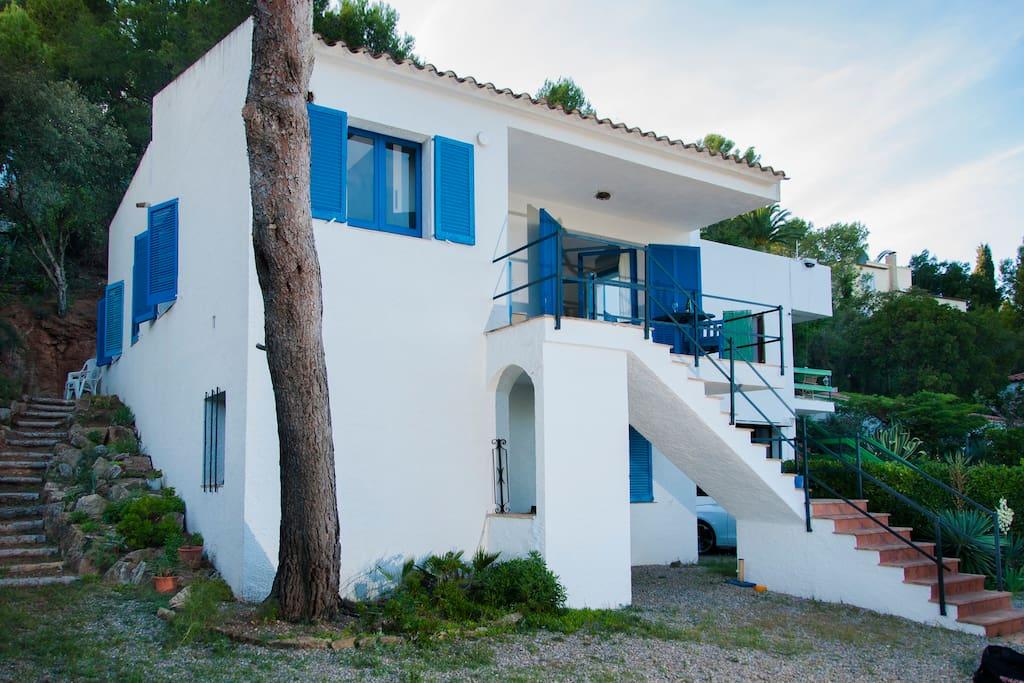 House beach pals costa brava casas en alquiler en begur - Casas alquiler costa brava ...