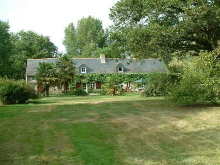 """Large appt in a """"Charming Longère""""  - DOGS Welcome"""