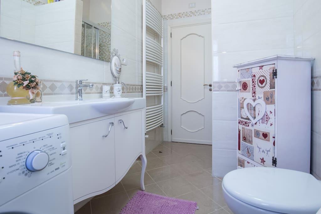 bagno lavatrice