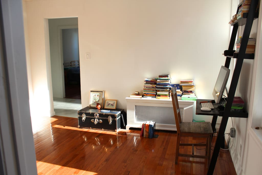 Light filled living room.