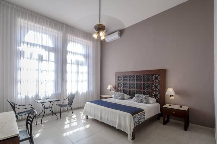TecnoHotel Casa Villamar Suite cama King Size