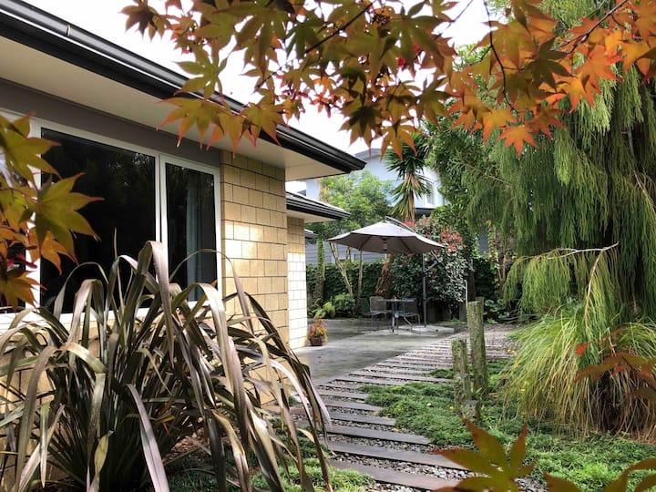 Cozy home in tropical gardens