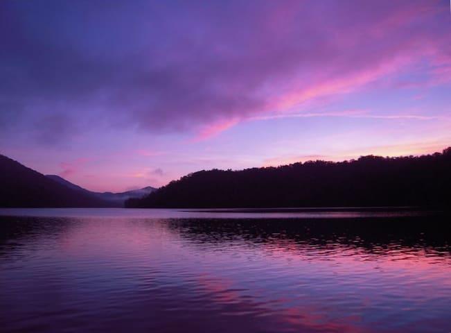 Take a deep breath- you're home in Nantahala
