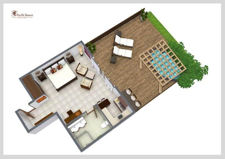 Te Manava 5 Star Beachfront Villa Suite