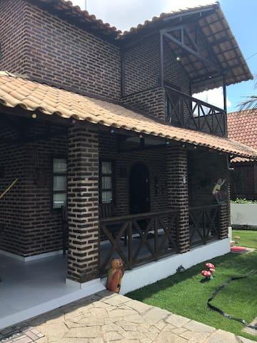 Casa em condomínio fechado no Brejo Paraibano.