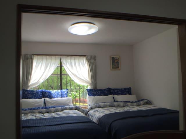 Parkview brickwall 4 doublebeds condo Ueno Nippori - Arakawa-ku - Condo