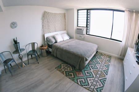 New Modern Ocean View Studio A - Honolulu - Apartment