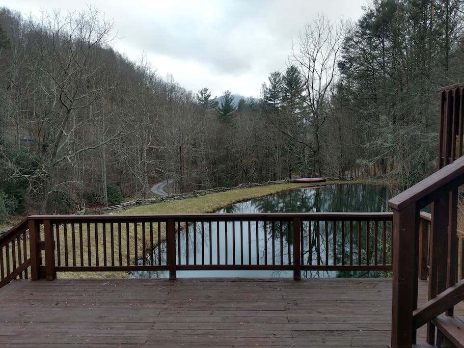 Pond View From Hot Tub