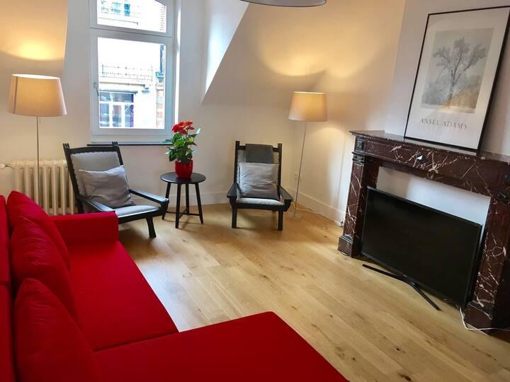 Modern Duplex apartment in EU quarter