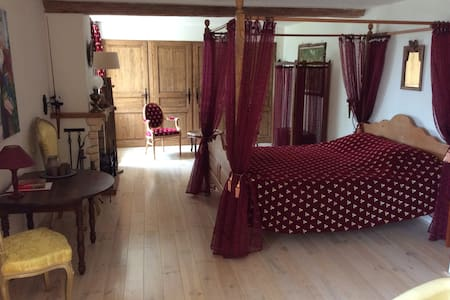 Romantical Suite Romeo & Juilliette - Bouhy - Bed & Breakfast