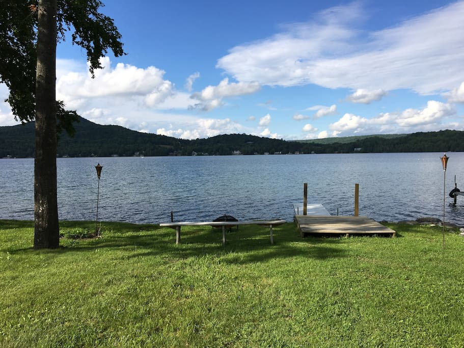 20 ft of private access to Echo Lake