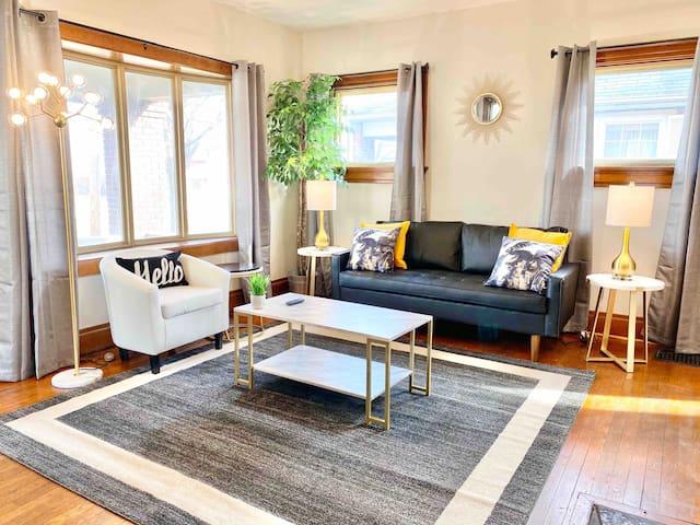 Huge+Historic+Designer 3BR Home | Near UD+Downtown