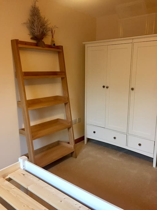 triple wardrobe for all your clothes plus any bits & bobs