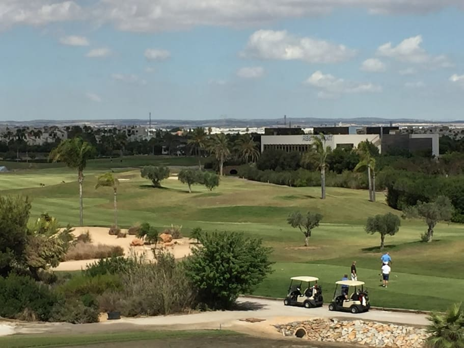 Excellent golf course on-site