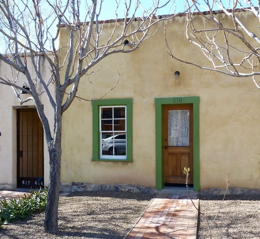 """Downtown adobe with """"window"""" to the 1880s"""