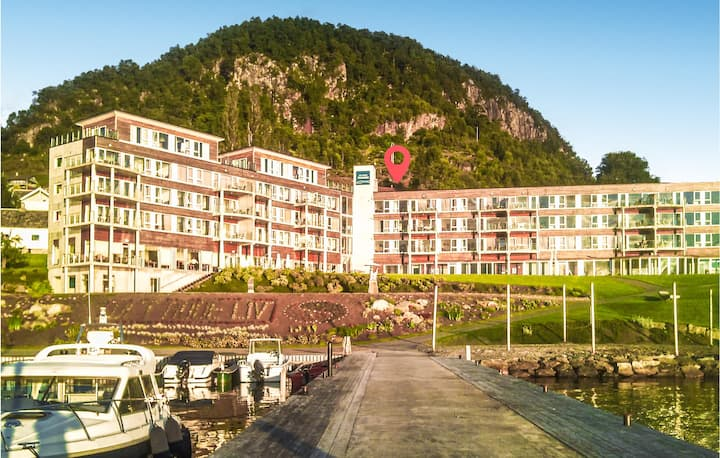 Awesome apartment in Hjelmeland with 2 Bedrooms