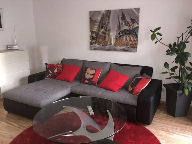 2-room apartment near airport, trade fair and city - Frankfurt nad Mohanem