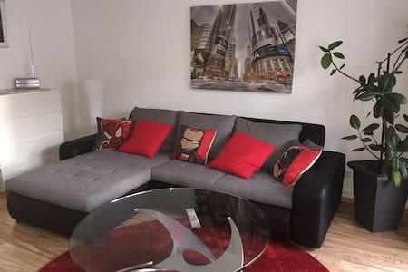2-room apartment near airport, trade fair and city - Frankfurt am Main - Daire