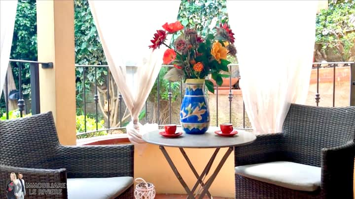 Apartment with 3 bedrooms in Alassio, with enclosed garden - 100 m from the beach