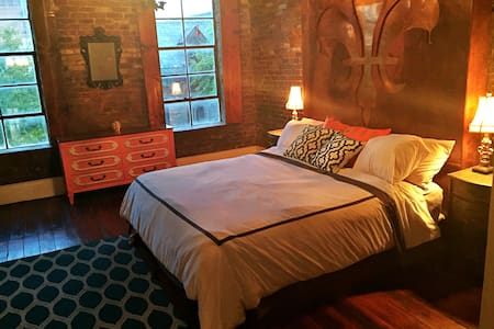 Speak Easy Loft Riverside in Downtown Vicksburg,MS - Vicksburg - Loteng