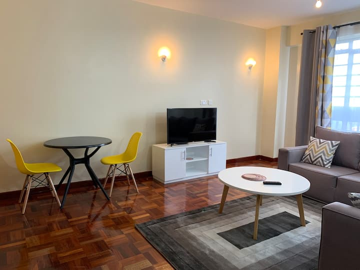 A beautiful & cosy 1 BR in the heart of Westlands