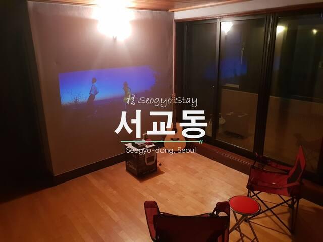 [SEOGYO STAY '桥'] Private Room (Near Hongik Univ.)