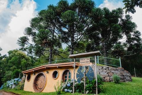 Toca da Araucária - Casa temática/Serra gaúcha