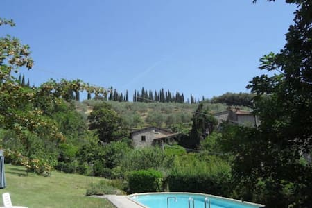 Fontanella Mugello Oasi! Swimming pool and WI FI
