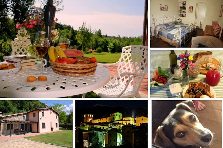 Charming B & B in Tuscany farmhouse - Penna - Bed & Breakfast
