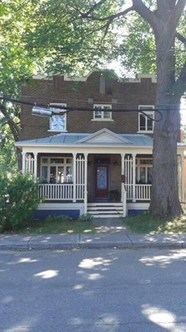 Ma maison est de style cottage anglais (1925)