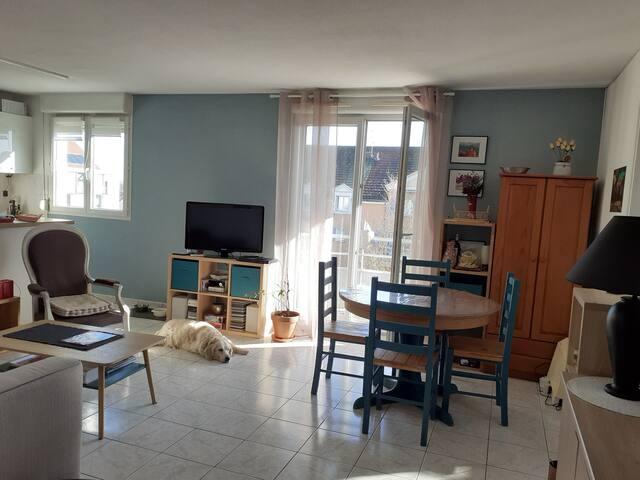 Appartement 3 pièces proche Chalon sur Saône