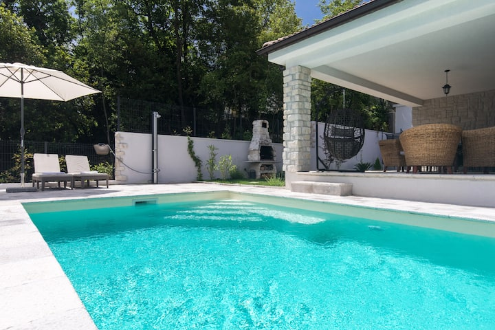Casa Maya Opatija - a stunning villa with a pool