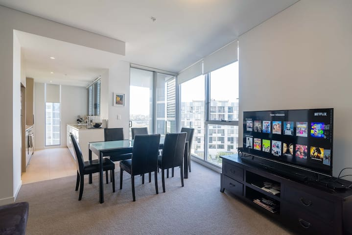 Private ensuite bed next to Airport - Wolli Creek - Lakás