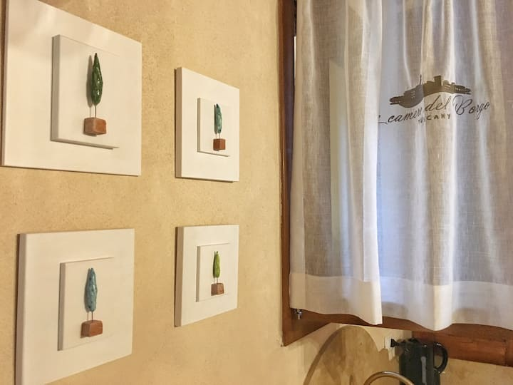 Appartamento Piazzetta-Relax nelle Colline Toscane