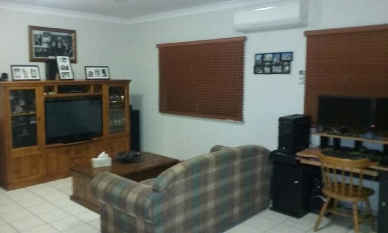 Your sole space to relax, with extensive Blue Ray & DVD Collection