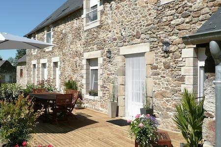 Longère de charme proche mer, St Malo, Dinan - Ploubalay - Dom